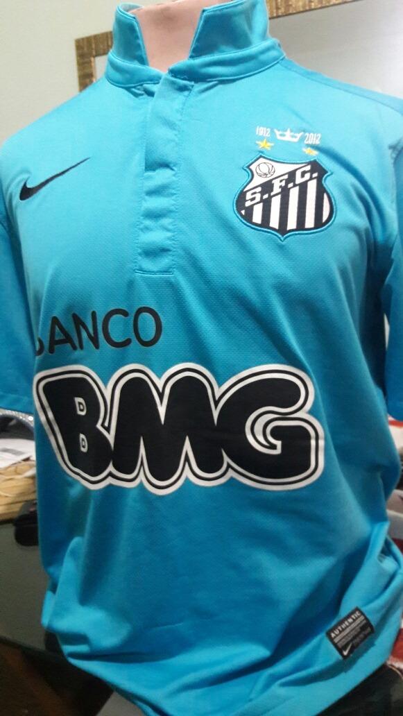 camisa santos da nike neymar. Carregando zoom. b8bbf31004116