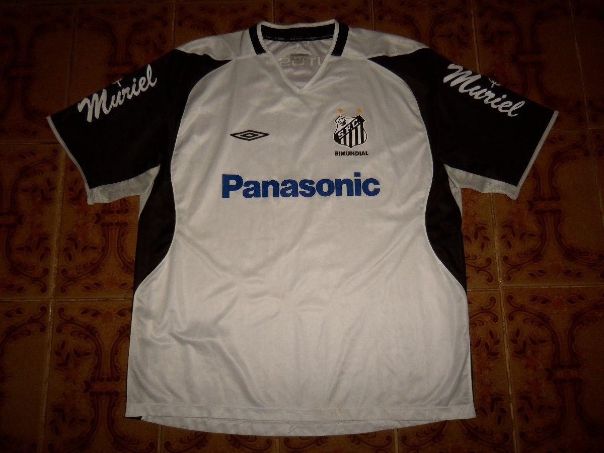 85a624f40b camisa santos f. c. treino 2005 umbro branca. Carregando zoom.