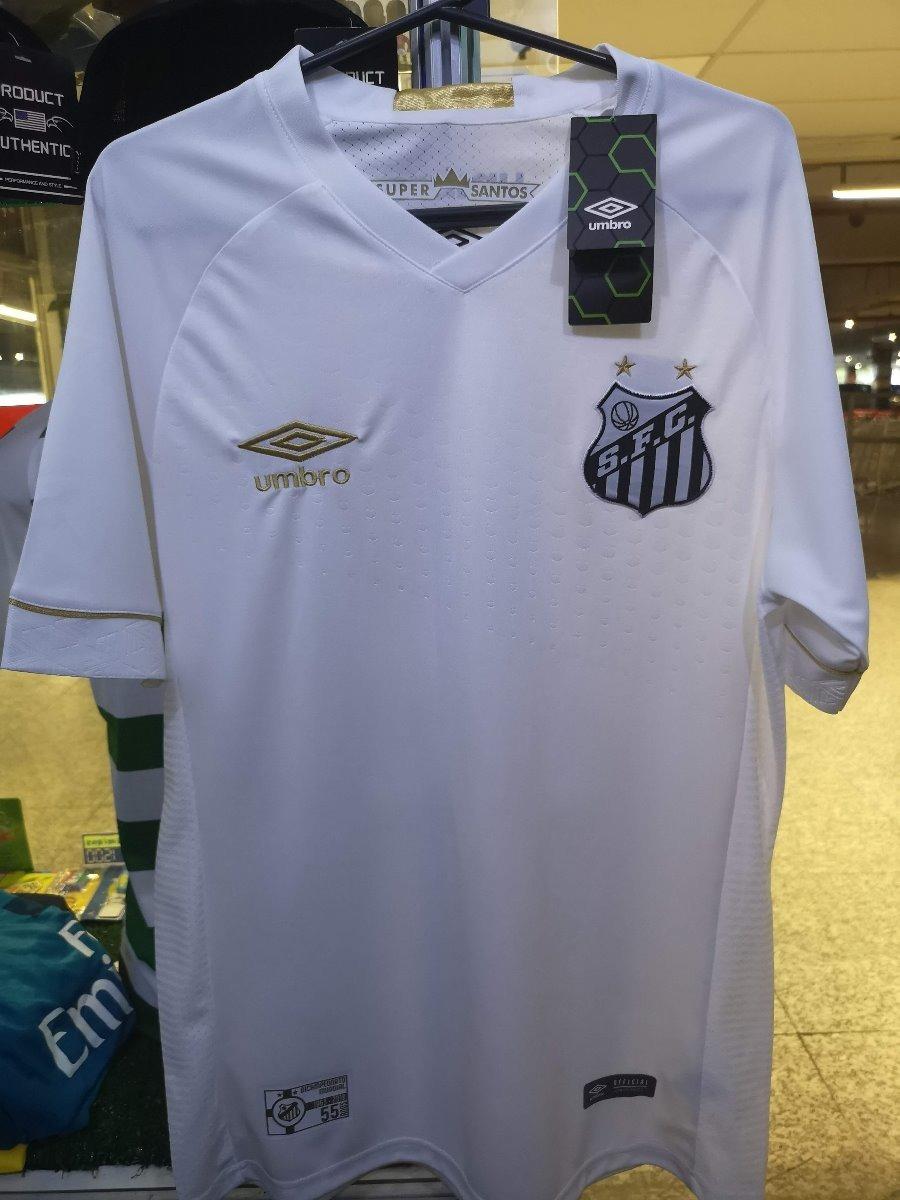Camisa Santos Fc 18 19 Home Nova Pronta Entrega - R  130 737acdedb09d2