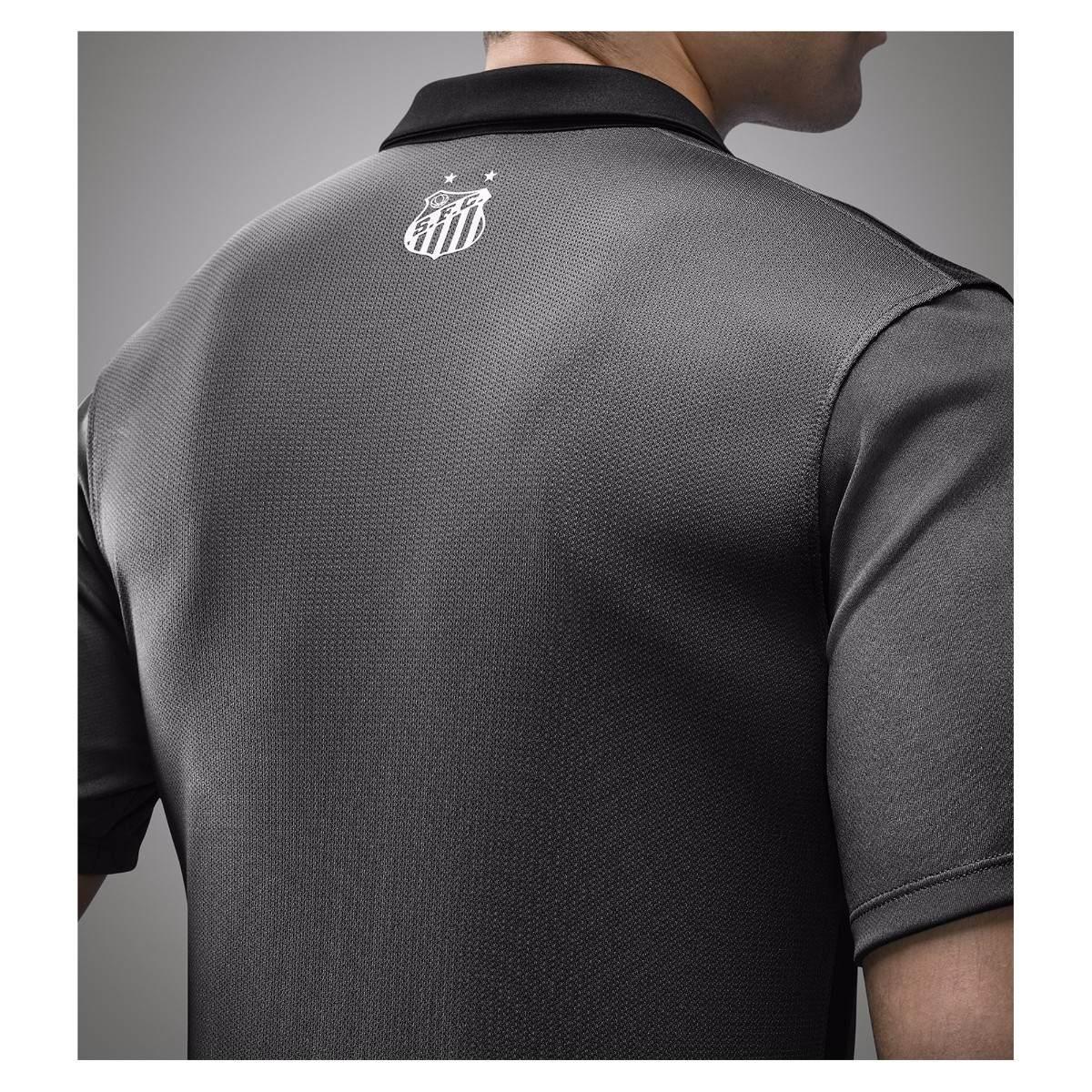 7da76c7412607 Camisa Santos Fc 2015 Cinza - Nike - Original! - R  179