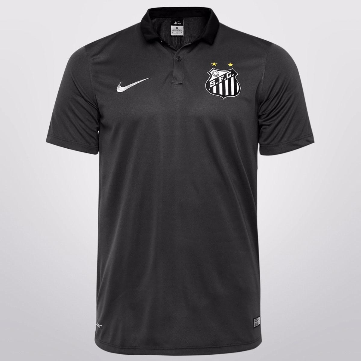 camisa santos fc 2015 cinza - nike - original! retirar. Carregando zoom. 0b7997b483cf7
