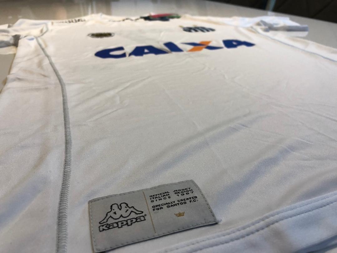 camisa santos fc oficial 2017 kappa nova. Carregando zoom. 04d341c0738e7