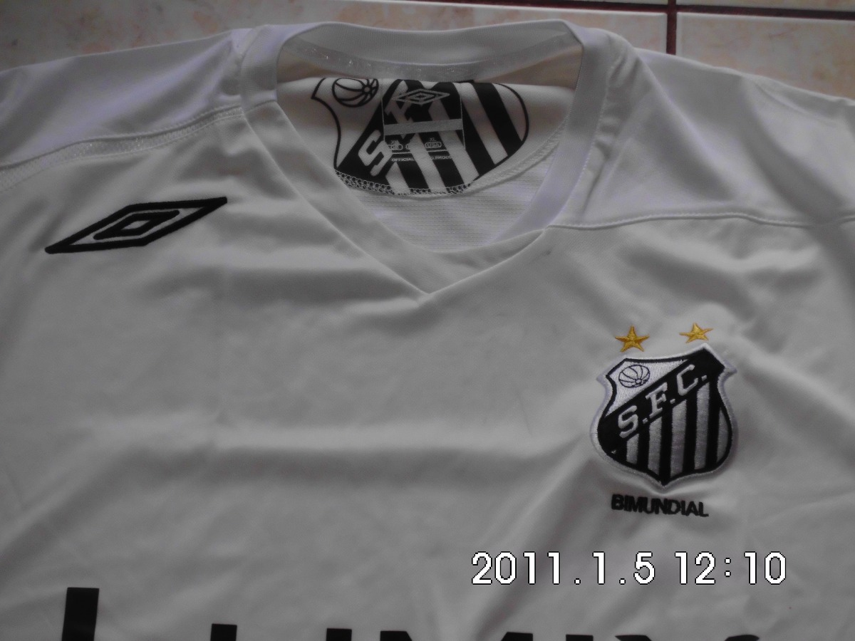 5b71f324de Camisa Santos Fc. Panasonic Lumix - 2006 - Original - R  109