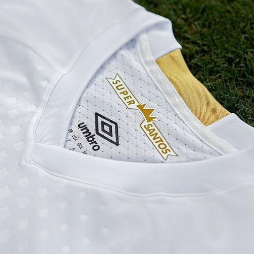 Camisa Santos I 2018 S n° Torcedor Umbro Masculina - Branco - R  169 ... 0bfdbddd1898e