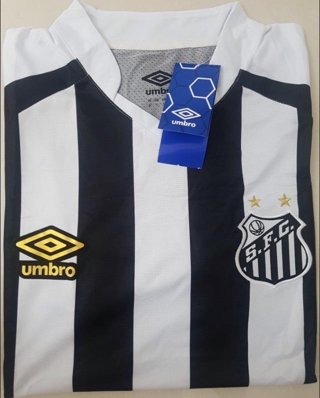 2778498317372 Camisa Santos Ii 2018 S n° Torcedor ( Pronta Entrega ) - R  135