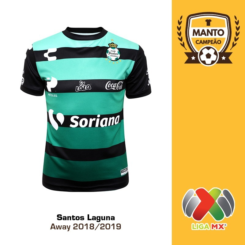 6dd1a97740 camisa santos laguna 2018 2019 away uniforme 2 rodríguez. Carregando zoom.