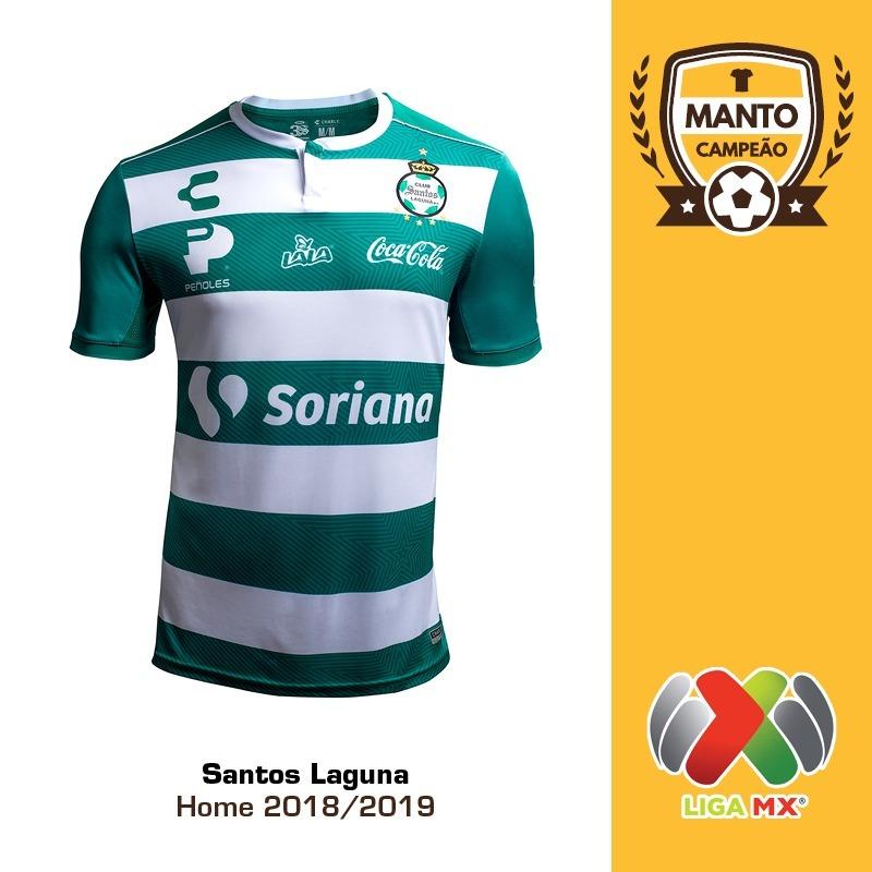 camisa santos laguna 2018 2019 home uniforme 1 rodríguez. Carregando zoom. 38152362cd469