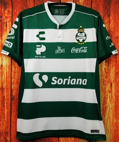 Camisa Santos Laguna 2018 2019 Home Uniforme 1 Rodríguez - R  125 0c2d25e9c5c04