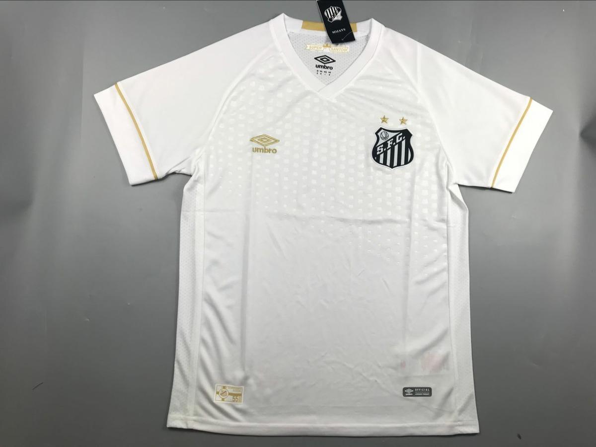 Camisa Santos 2018 Umbro Masculina Promoção - R  83 14fe3ed3259a9