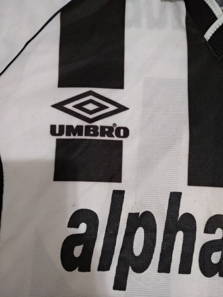 Camisa Santos N11 Umbro Alphaclub - R  250 f51204a52c574