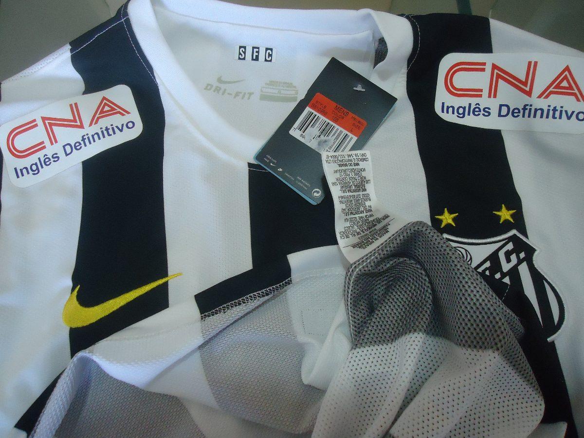 60ef03a4a6f88 camisa santos nike - 2014   2015 - s nº. Carregando zoom.