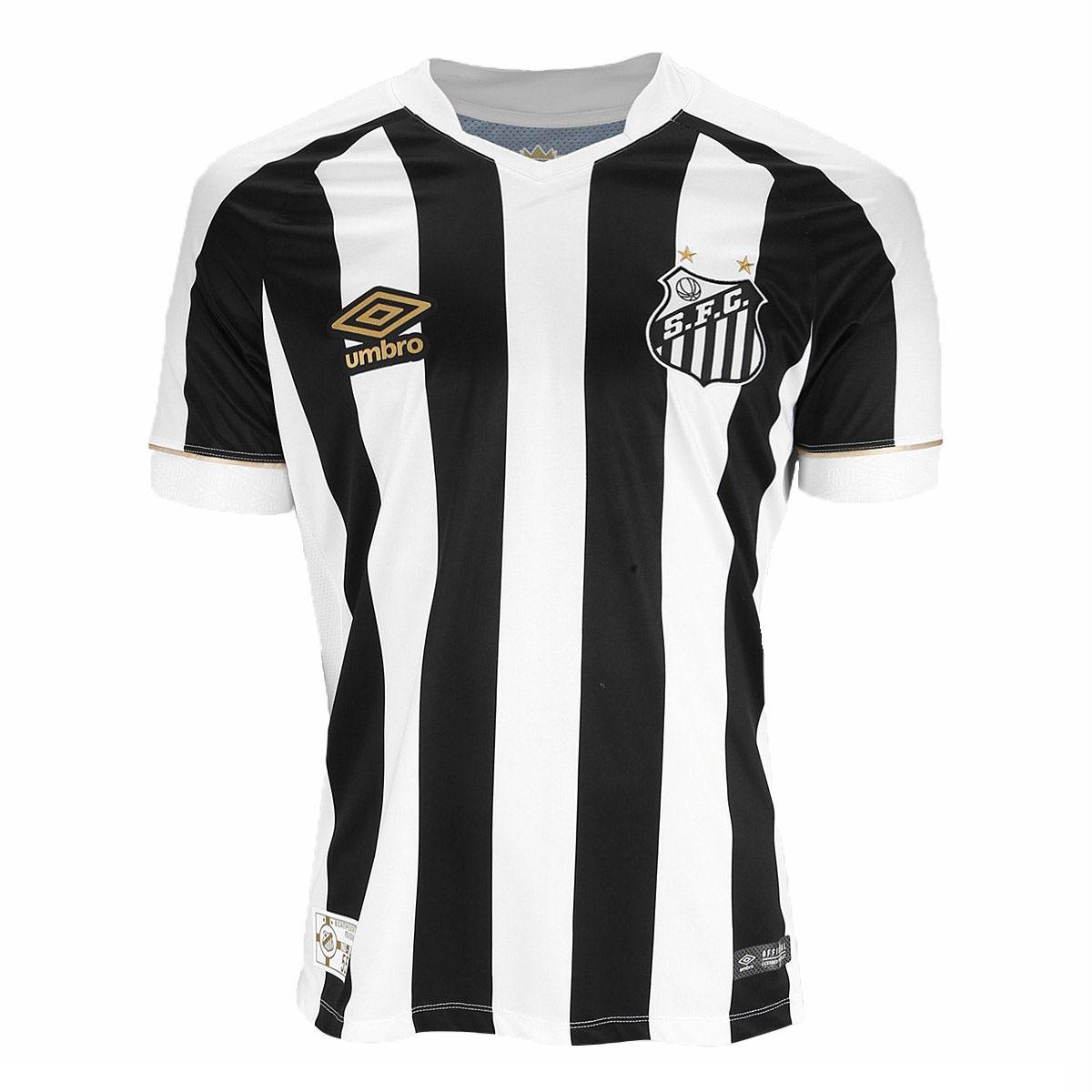 camisa santos oficial umbro 2018 19 listrada original. Carregando zoom. a4d80eb37a99e