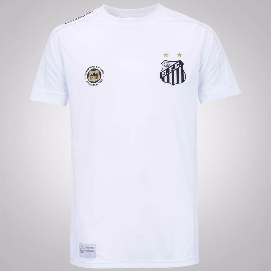 Camisa Santos Original Kappa 2017  18 Uniforme I - R  249 cfbad5443fe23