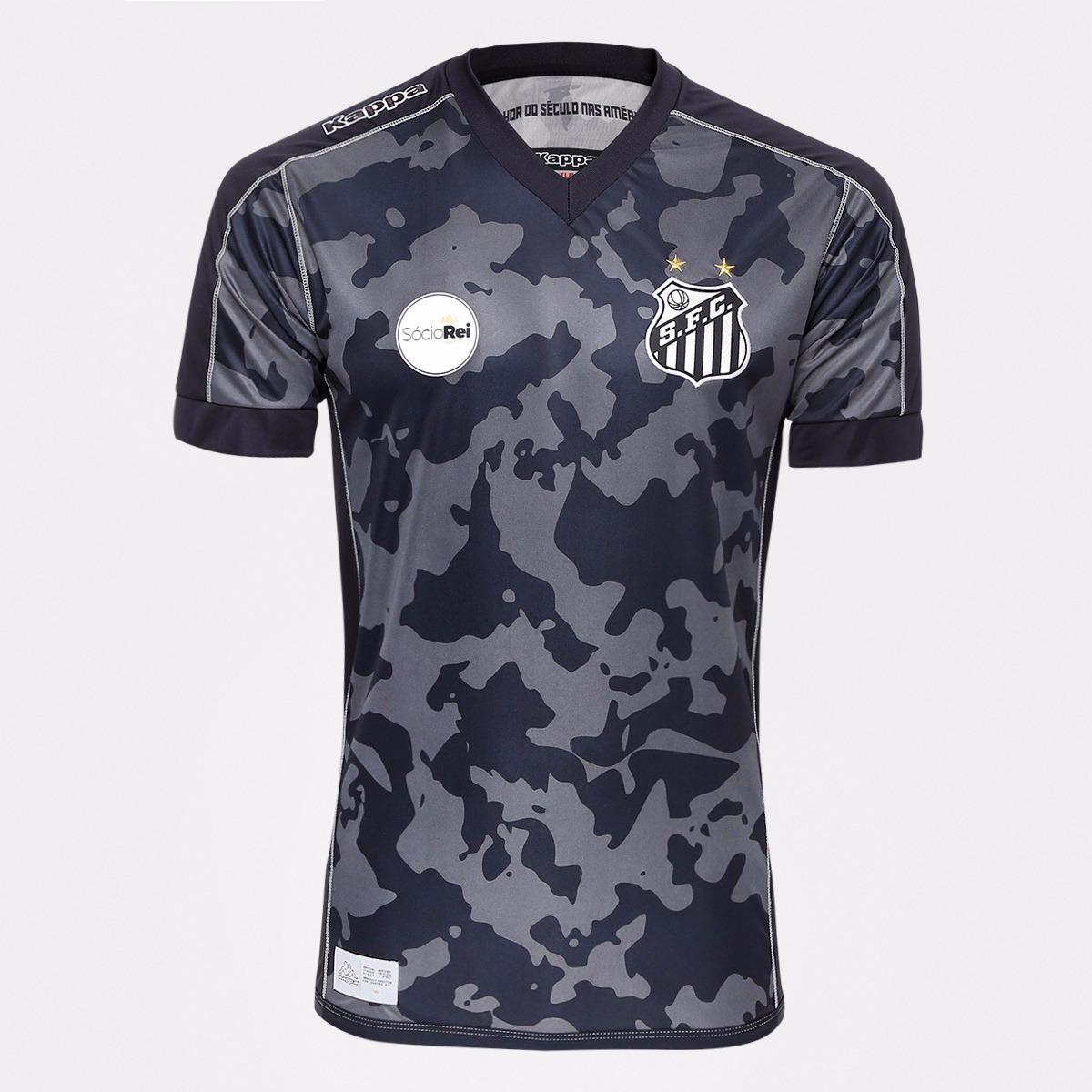 b9a2e7adfca0f camisa santos original kappa uniforme ill 2017   2018. Carregando zoom.