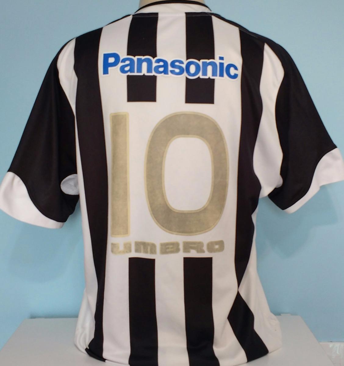 70a8556208 Camisa Santos Original Umbro Patch Cbf Panasonic 2005 - 78 - R  149 ...