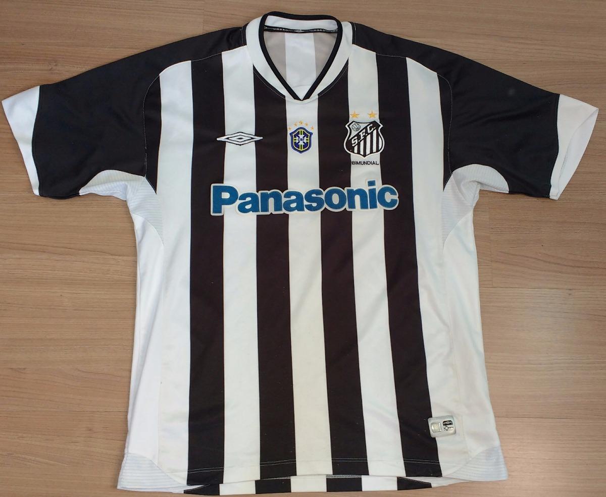 9d8f94c1bb camisa santos panasonic 2005 original umbro patch cbf - 78. Carregando zoom.