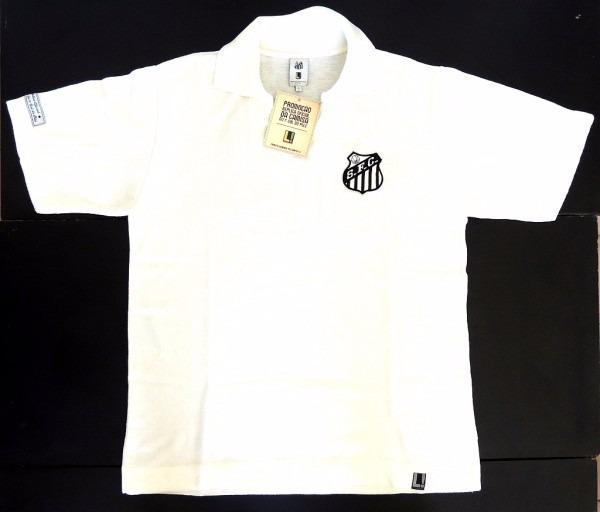 Camisa Santos - Réplica Oficial Camisa Do 1° Gol Pelé - R  59 aa73ead572c0a