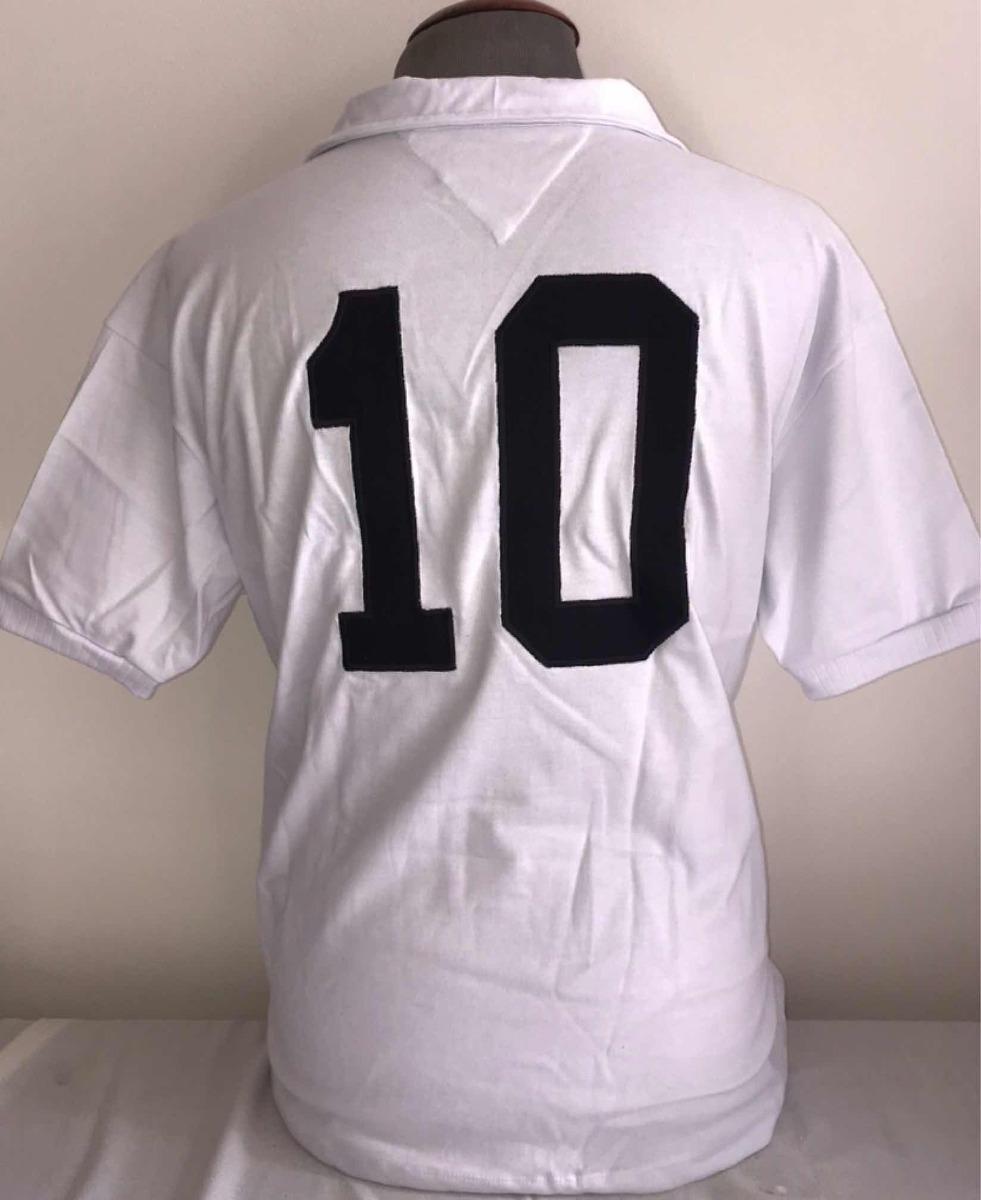 58f7a73415 Camisa Santos Retro Anos 1960 Oficial Athleta + Autenticidad - R ...