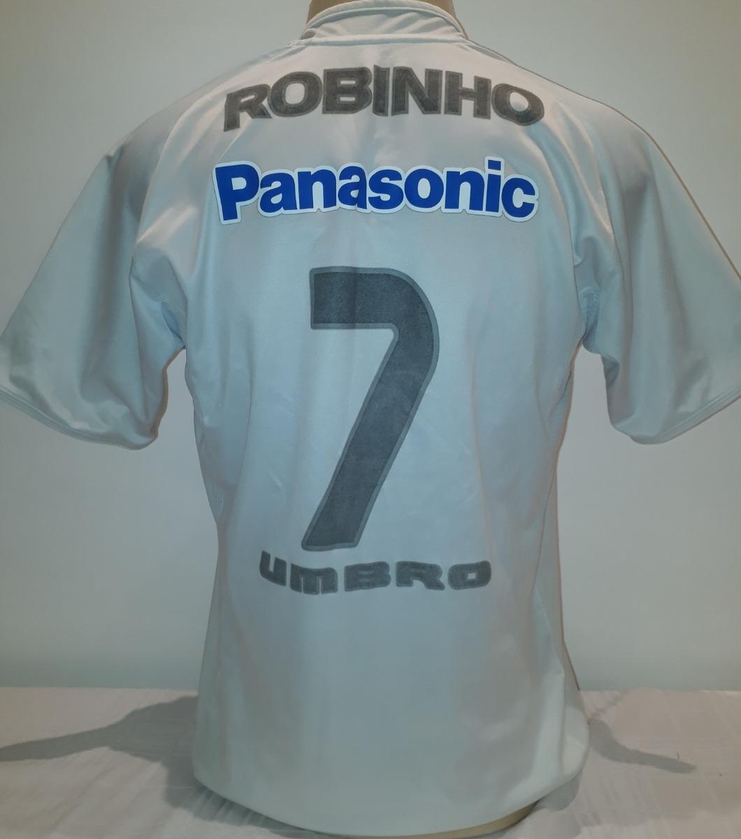 1368c6328c camisa santos robinho original umbro 2005 panasonic - ro. Carregando zoom.