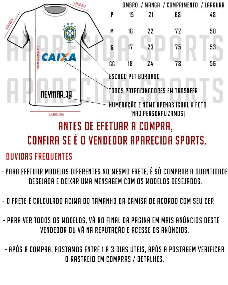 Camisa Santos Dourada Nova 2018 2019 Santos Eterno - R  29 09800a207ae32