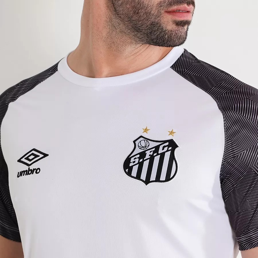af042c99bf Camisa Santos Treino Oficial Umbro 2018 2019 C  Nota Fiscal - R  119 ...