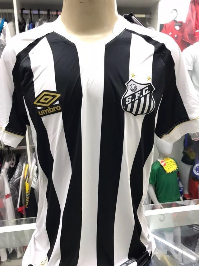 6474efb27f6da camisa santos umbro 2018 uniforme il até tamanho 4g. Carregando zoom.