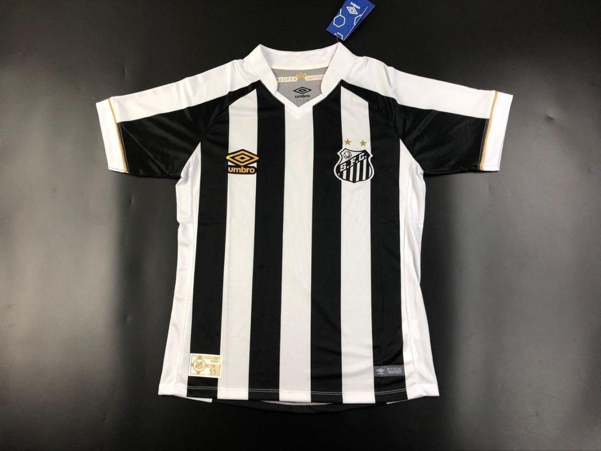 camisa santos umbro 2018 2019 nova temporada- frete gratis. Carregando zoom. 37014d76048c4