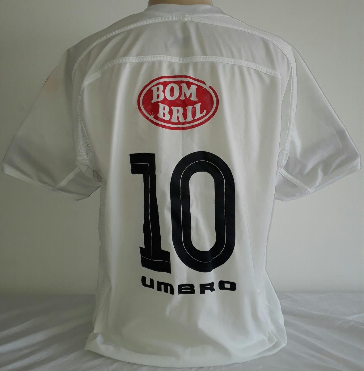01b619dd9dbe6 camisa santos umbro campeão brasileiro de 2004 bombril - 17. Carregando  zoom.