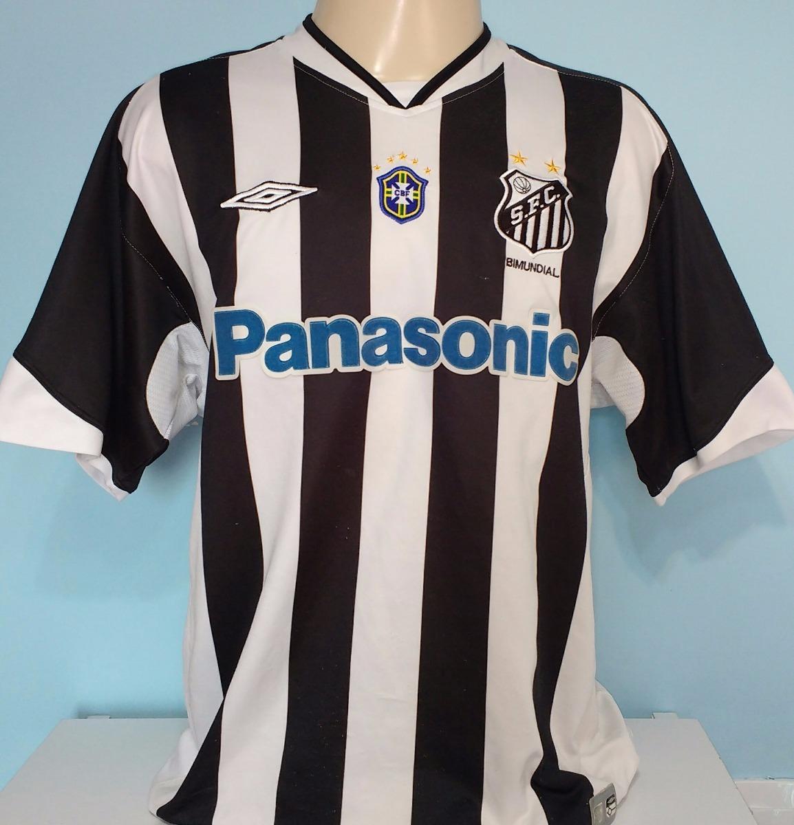 b81c2dbb4e camisa santos umbro original patch cbf panasonic 2005 - 78. Carregando zoom.