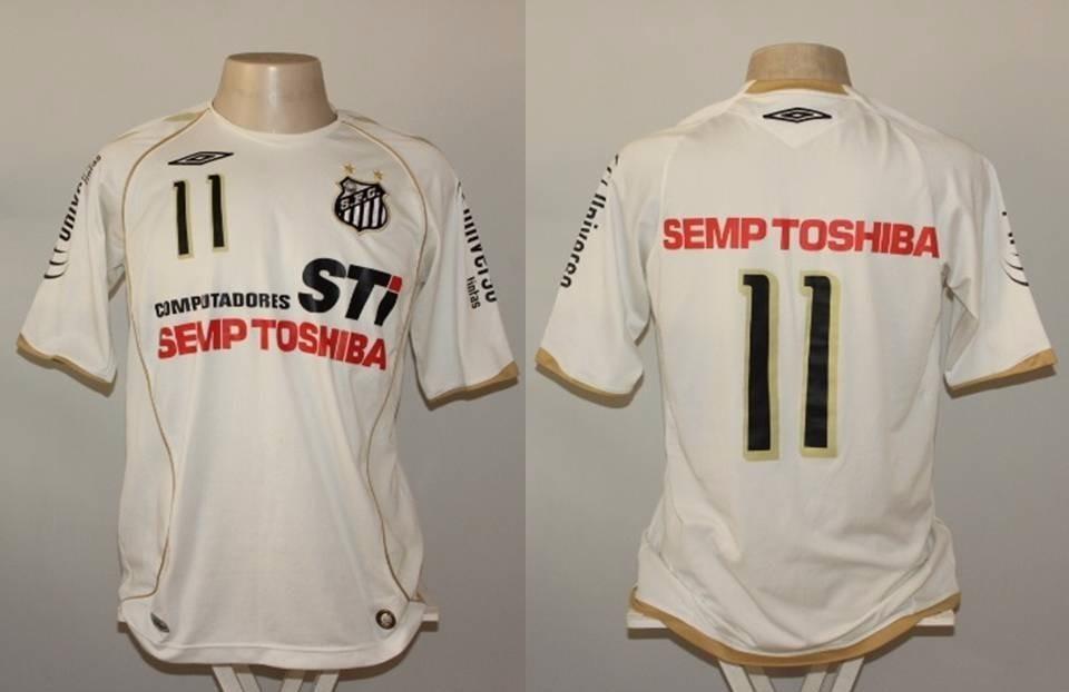Camisa Santos Umbro Semp Toshiba 2008  11 - G - R  149 25b9514f260dc