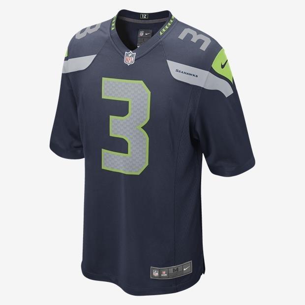 8a8659349 Camisa Seattle Seahawks Russell Wilson  3 Nfl Nike Original - R  230 ...