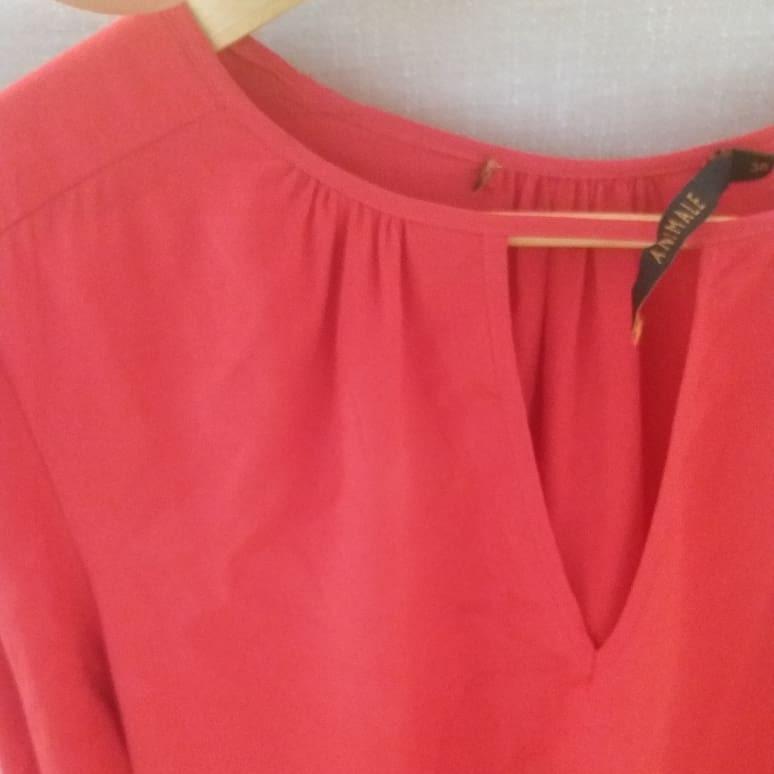 6ffadefc32 Camisa Seda Vermelha Animale 38 - R  130
