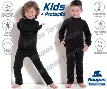 45458a27e7d4a Camisa Segunda Pele Térmica Inverno Extremo Manga Longa Uv50 - R  69 ...