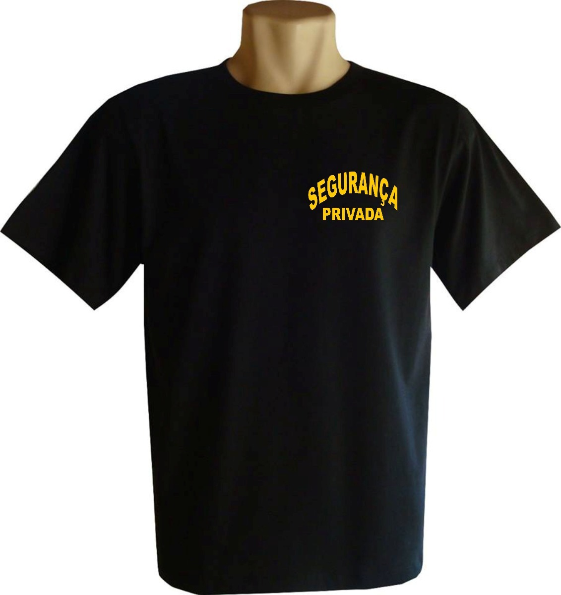 camisa segurança privada camiseta 100% algodão fio 30.1. Carregando zoom. 1dd42d6417a6f