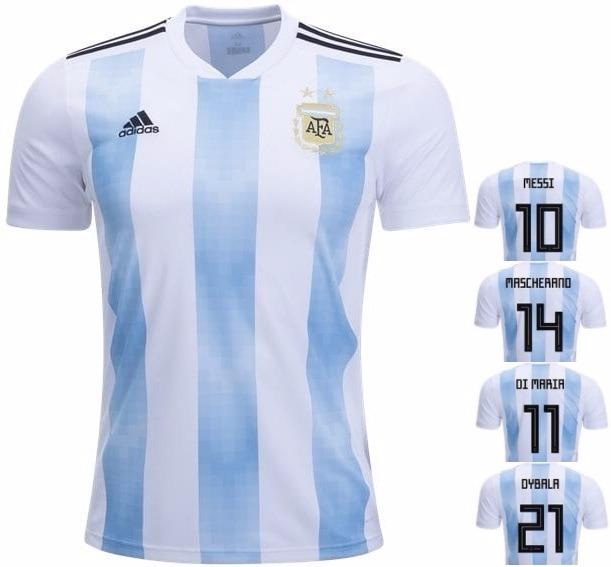 ea862965c2 Camisa Sel. Da Argentina - Uniforme 1 - 2018 - Frete Grátis - R  125 ...