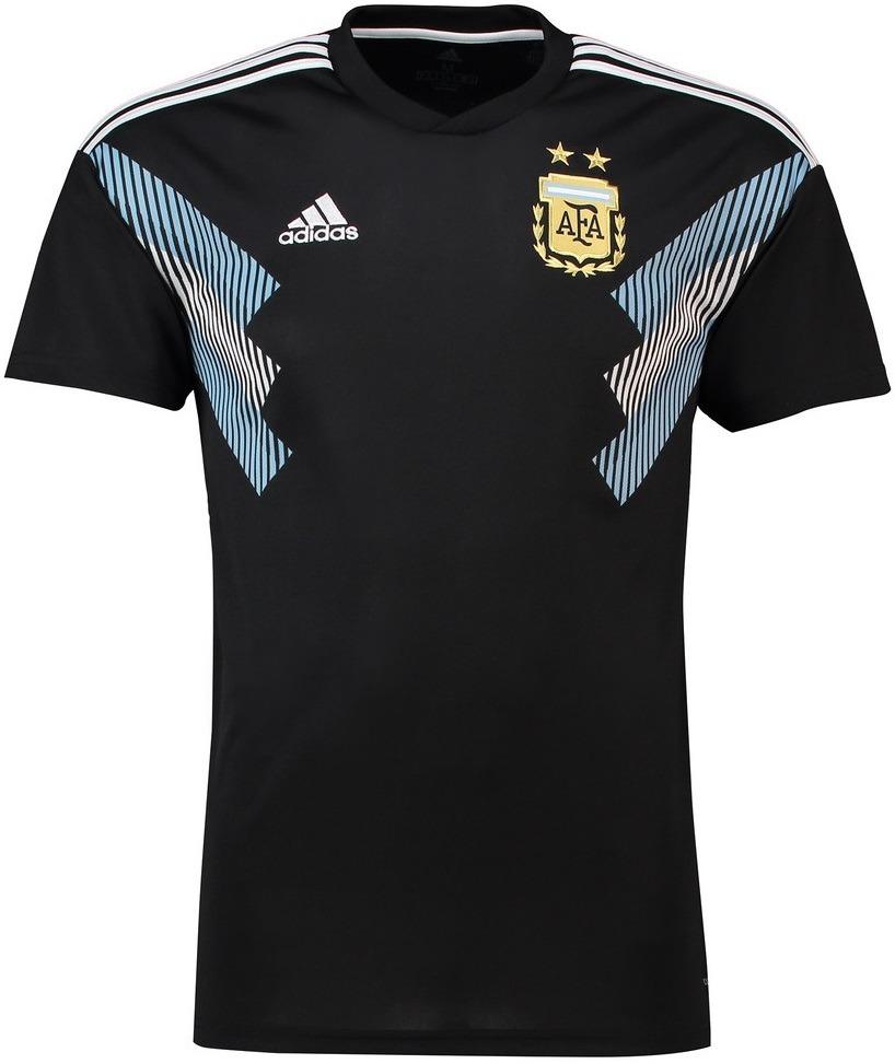 Camisa Sel. Da Argentina - Uniforme 2 - 2018 - Frete Grátis - R  125 ... d55327f94e0cf
