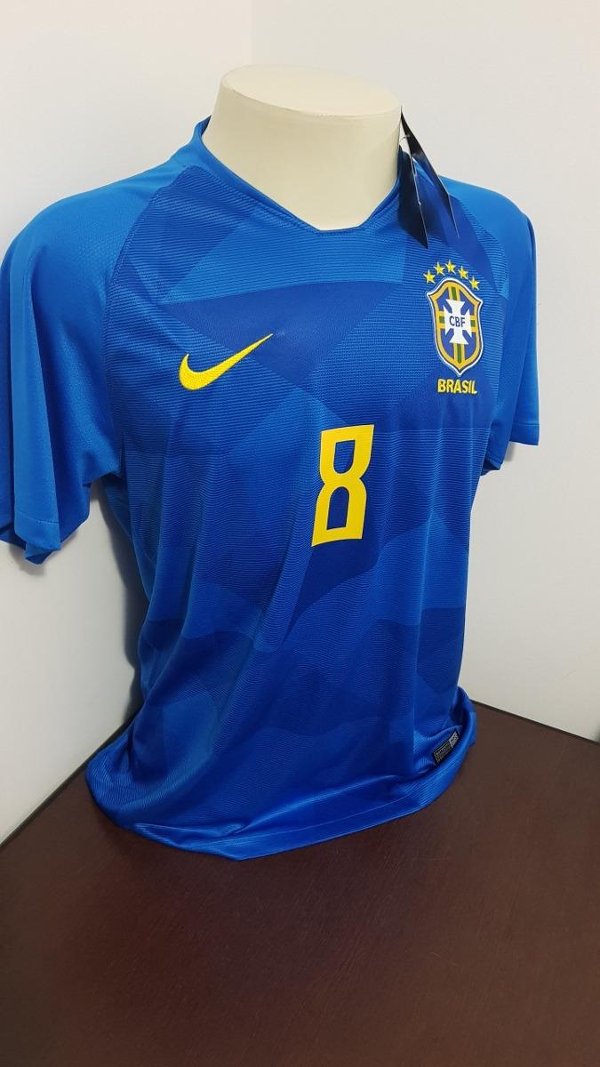 92782f1867 camisa seleçao brasileira azul  r. augusto- gg. Carregando zoom.
