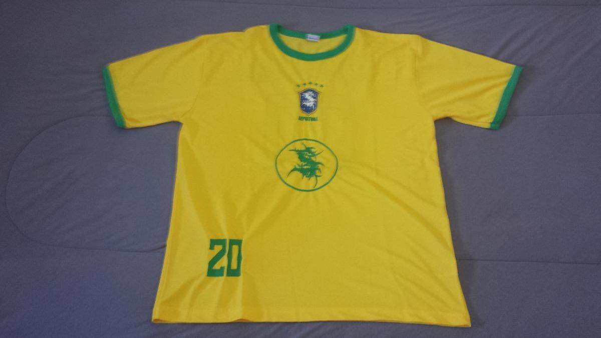 e44611622bedb camisa selecao brasileira sepultura. Carregando zoom.