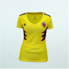 Seleccion Camisa Mujer 100Original 2018 Colombia PNwZk0OX8n