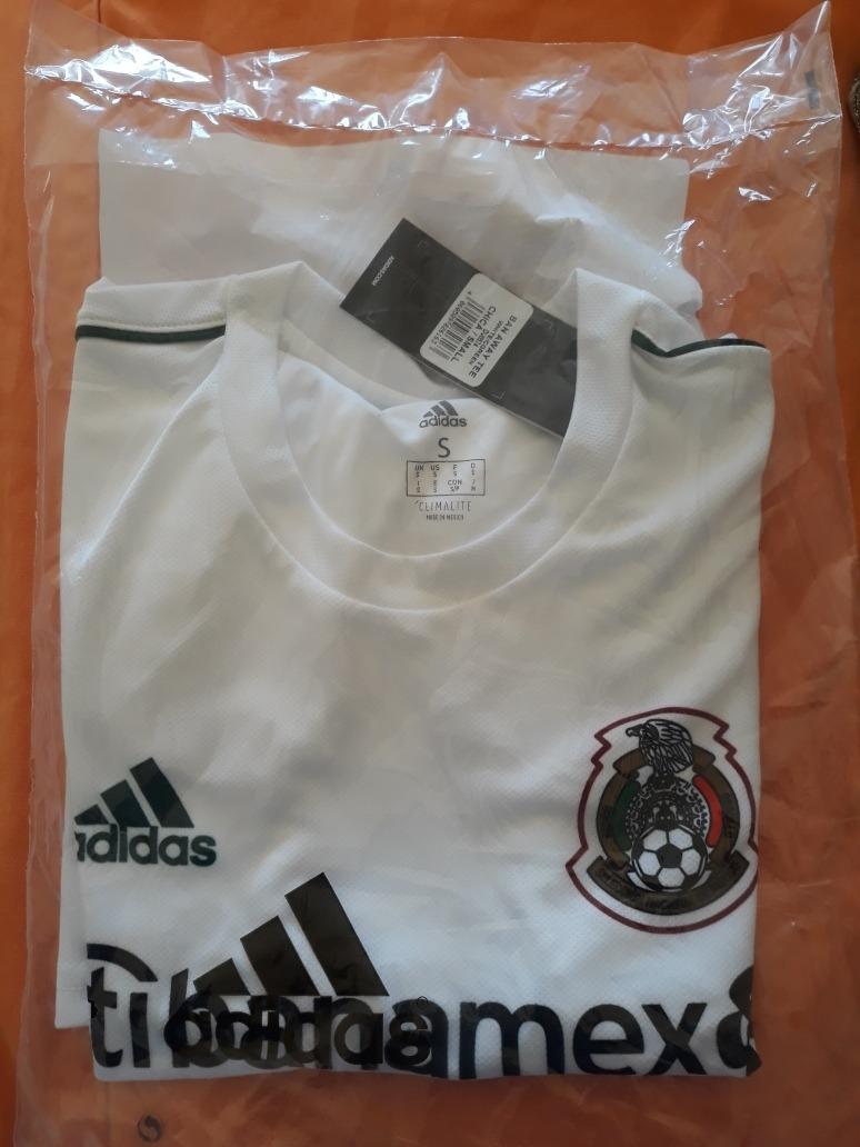 Camisa Seleccion Mexicana Blanca -   500.00 en Mercado Libre 5db27b91a3c82