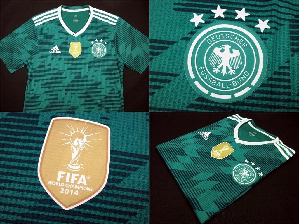 camisa seleção alemã alemanha jogador copa do mundo 2018 s n. Carregando  zoom. 528f5576aa331