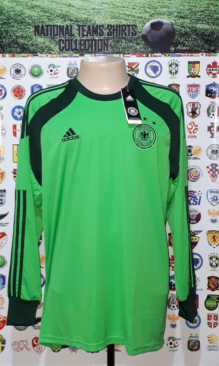 Camisa Seleção Alemanha 2014 Gk adidas Tam Gg Nova Neuer - R  169 d4196d00fa759