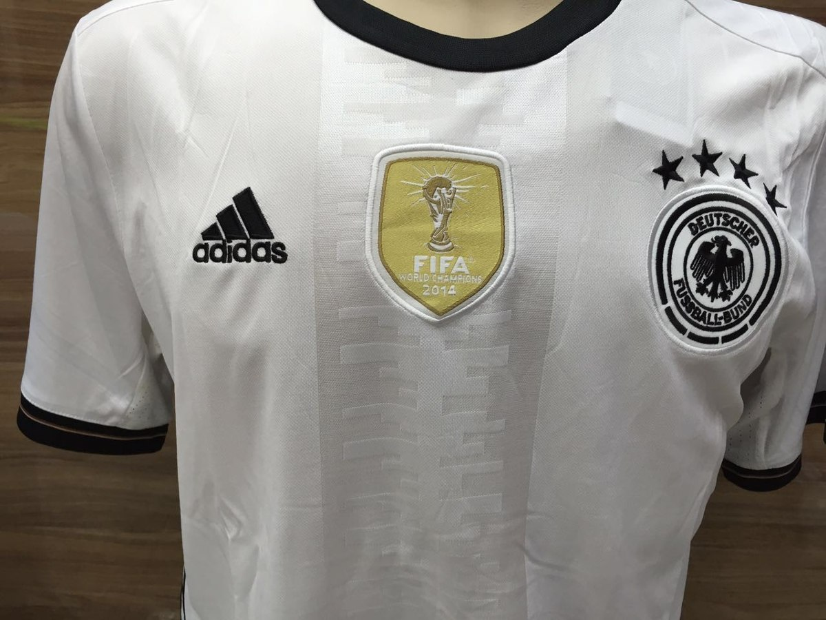 Camisa adidas Seleção Alemanha Away 14 15 S n° - Tetracampeã - R ... 5954ac65d5263