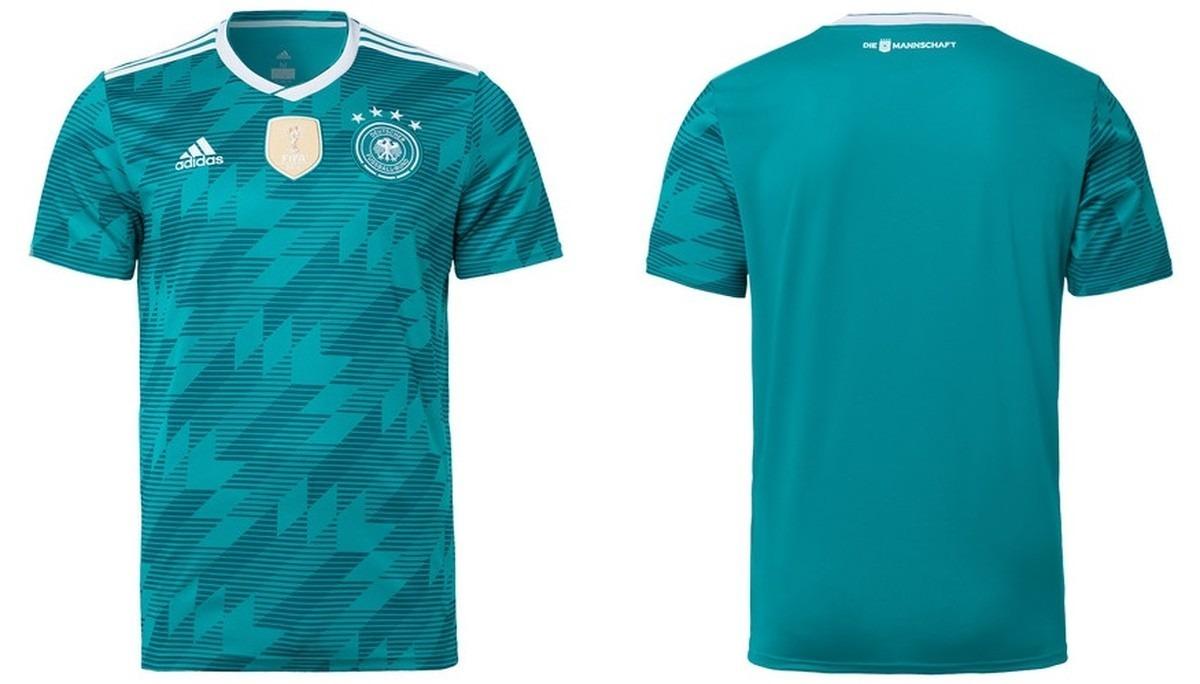 cf166fe74f3d2 Camisa Da Seleção Da Alemanha Copa Do Mundo Lançamento Nova - R  120 ...