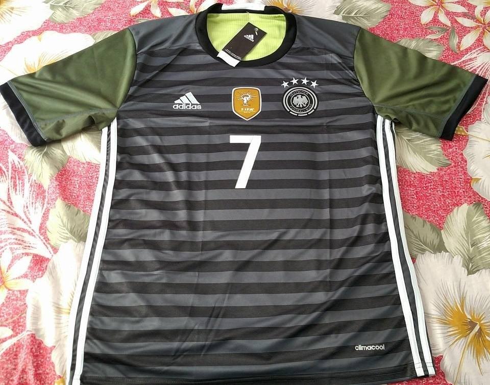 camisa seleção alemanha cinza schweinsteiger 7 eurocopa 2016. Carregando  zoom. e4ce2590b997a