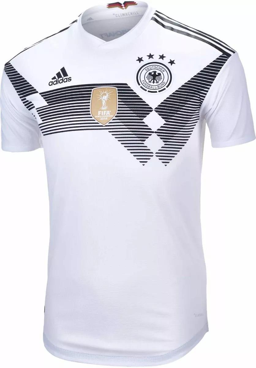 camisa seleção alemanha copa 2018 camiseta branca. Carregando zoom. 9483864039d9f