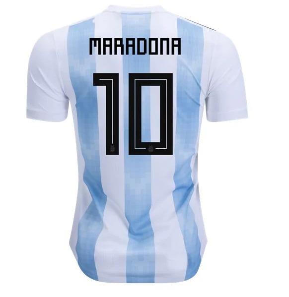 06990e4bab5ce Camisa Seleção Argentina #10 Maradona Copa 2018 Torcedor - R$ 169,90 ...