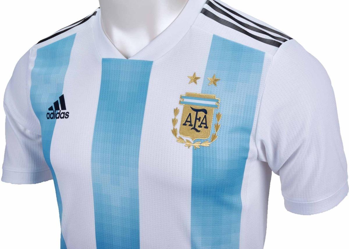 Camisa Oficial Seleção Argentina 2018 - Home + Frete Off - R  150 f6a6486e9c27a
