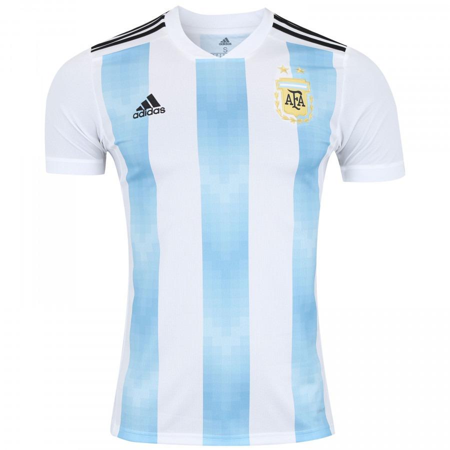 ... camisa seleção argentina home 2018 s n° torcedor - original. Carregando  zoom. 9a9ca55aa71de1  Camisa Seleção Alemanha ... 95cb8255d171d