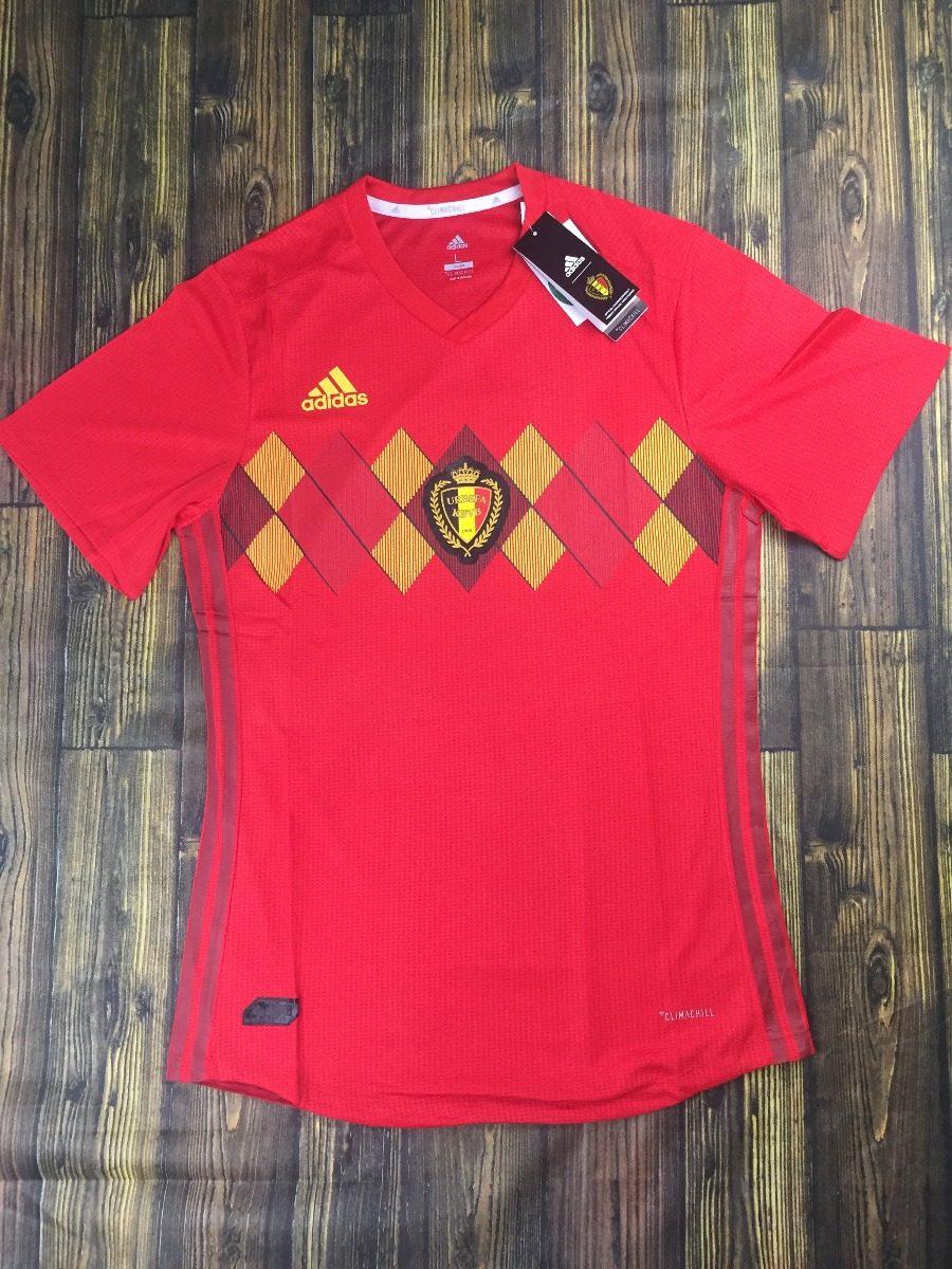 camisa seleção bélgica 2018 s n° jogador adidas masculina. Carregando zoom. c1db89b88253b
